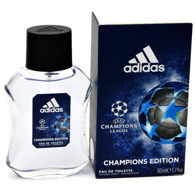 zamówienie online różne style przejść do trybu online ADIDAS CHAMPIONS LEAGUE UEFA CHAMPION EDITION IV WODA TOALETOWA 50ML