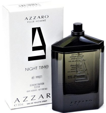 AZZARO AZZARO POUR HOMME NIGHT TIME WODA TOALETOWA 100ML TESTER