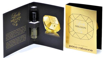 PACO RABANNE LADY MILLION WODA TOALETOWA 1,5ML PRÓBKA